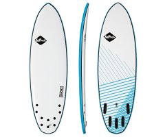 Softech Brainchild 58 FCS II Blue Softsurfboard