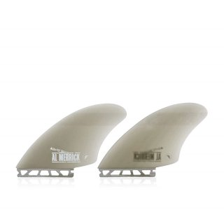 FUTURES Twin Fin Set Channel Island Keel Fiberglas